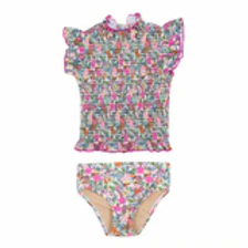 Shade Critters - Ribbed Floral 2 Piece