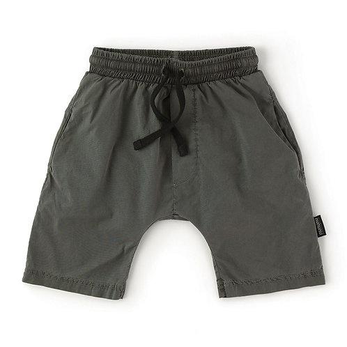 Nununu - Charcoal Drawstring Shorts