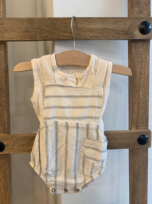 My Little Cozmo - Striped Romper Set