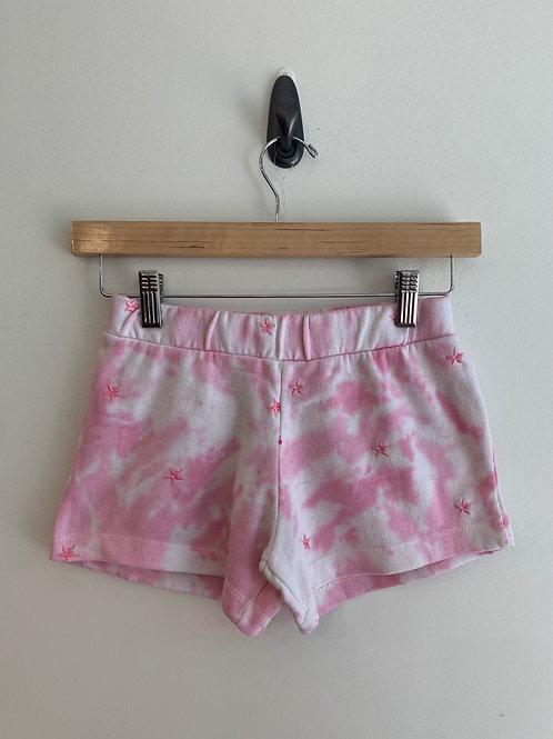 Vintage Havana - Pink Star Tie Dye Shorts