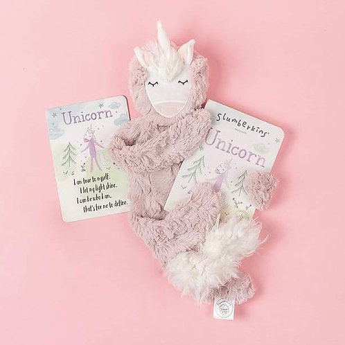 Slumberkins - Unicorn Snuggler Set