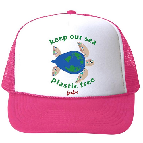 Bubu - Trucker Hat Keep Sea Plastic Free