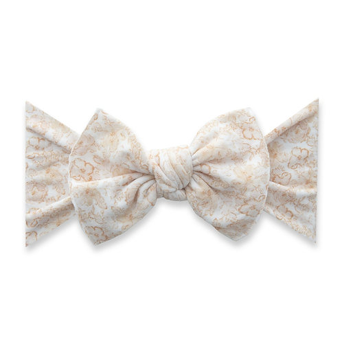 Baby Bling - Orange Floral Bow