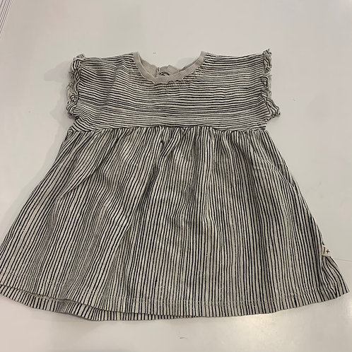 1+ In The Family - Arlet Striped Baby Dress