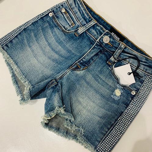 Hudson Kids - Denim Reverie Stud Shorts