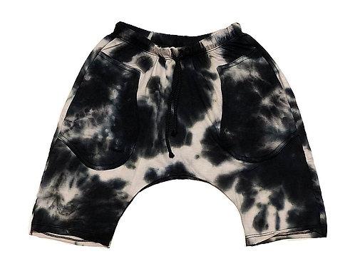 Jagged Culture - Black Tie Dye Pants