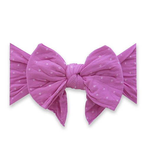 Baby Bling - Dang Enormous Purple Dot Bow