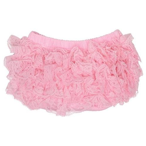 Ju Danzy - Pink Lace Diaper Cover