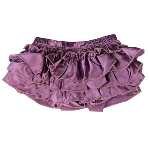 Ju Danzy - Purple Satin Diaper Cover