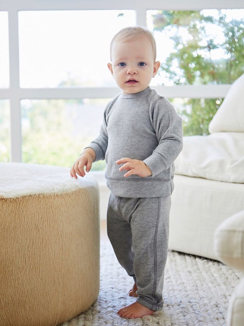 Paige Lauren - 2pc Soft Grey Top and Jogger
