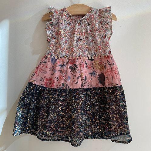 Imoga - Tilly Multi Pattern Dress