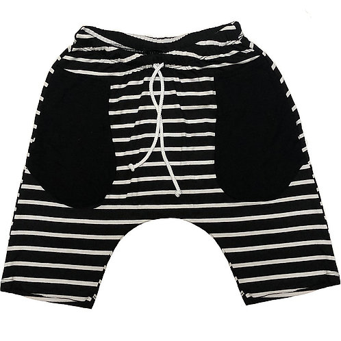 Jagged Culture - Striped Shorts