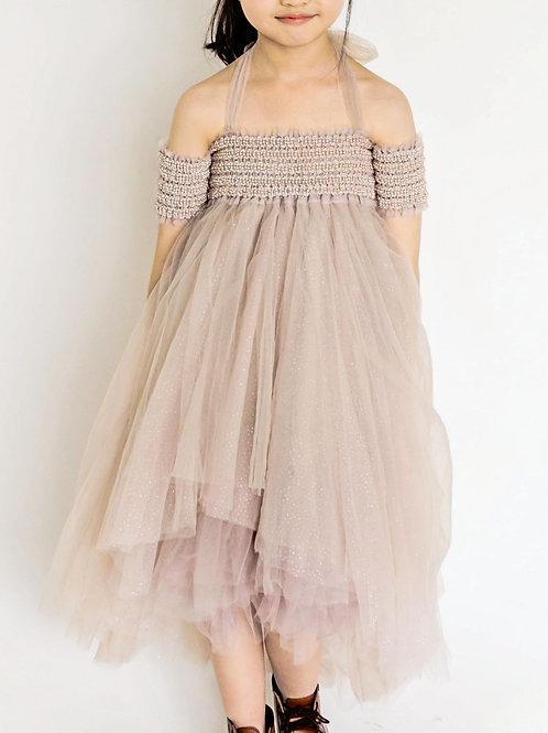 Luna Luna - Lilac Beaded Tulle Dress