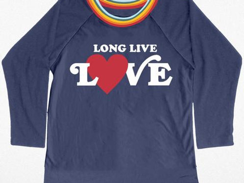 Tiny Whales - Long Live Love Shirt