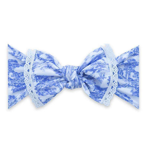 Baby Bling - Vintage Wallpaper Trimmed Bow