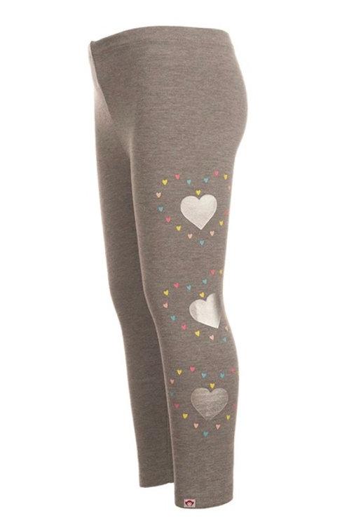 Appaman - Grey Heart Leggings