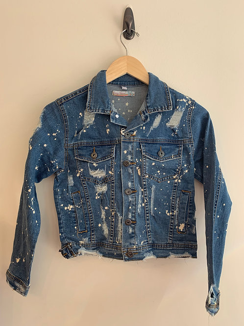 Vintage Havana - Splatter Jean Jacket