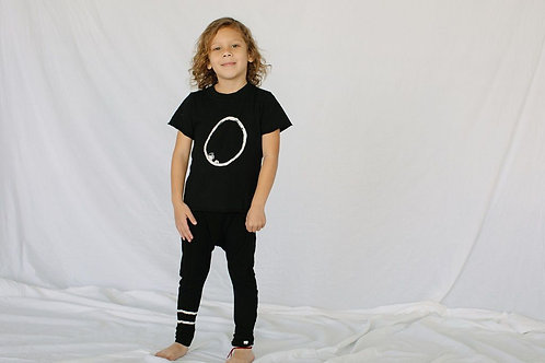 Little Moon Society - Cali Tee in Eclipse
