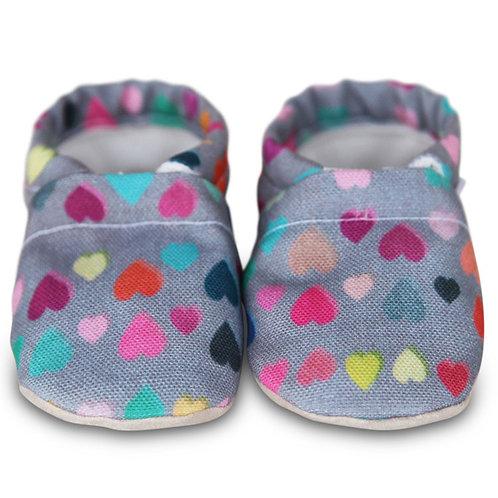 Clamfeet - Charlie Heart Baby Shoes