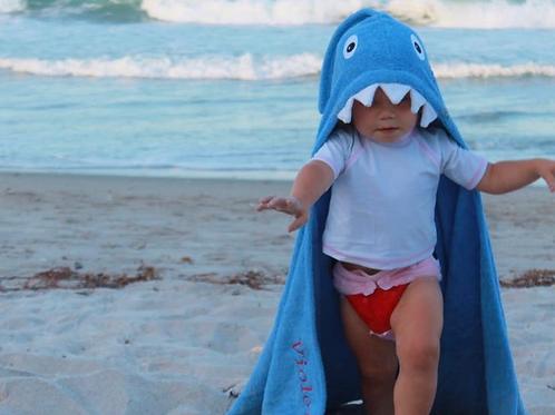 Yikes Twins - Shark Hooded Towel