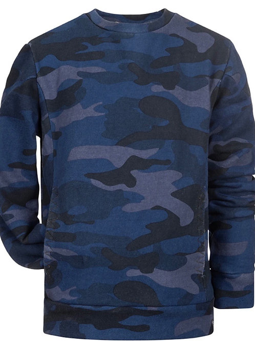Appaman - Blue Camo Pullover