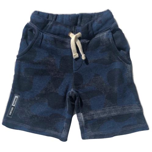 Vintage Havana - Dark Blue Camo Shorts