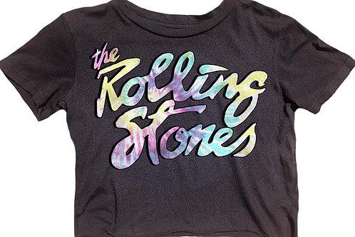 Rowdy Sprout - Rolling Stones Tie Dye Crop
