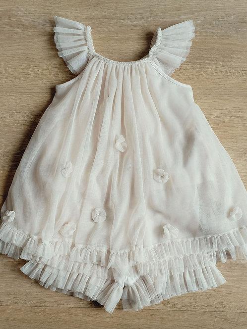 Luna Luna - Biege Tulle Dress W/ Bloomers