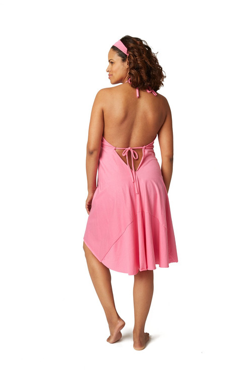 Pretty Pusher\'s Labor & Delivery Gown - Hot Pink