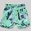 Thumbnail: Munster - Green Splatter Board Shorts