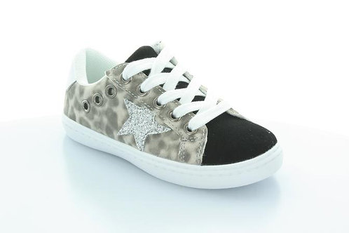 Hoo Shoes - Leopard Star Sneaker