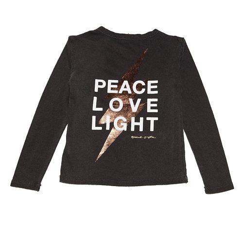 Spiritual Gangster - L/S Peace Love Light
