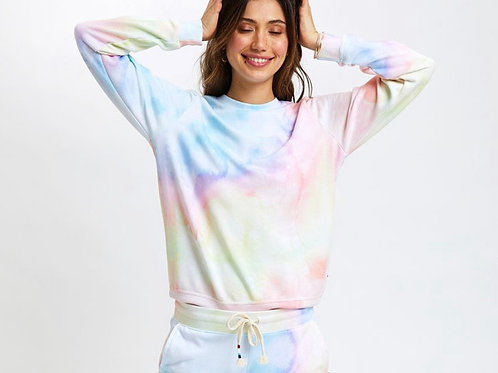 Sol Angeles - Watercolor Pullover
