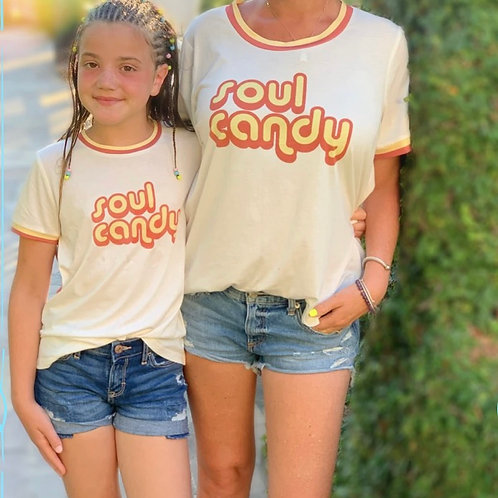 Becandylicious - Soul Candy Retro Tee
