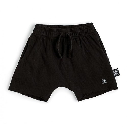 NUNUNU - Distressed Black Soft Shorts