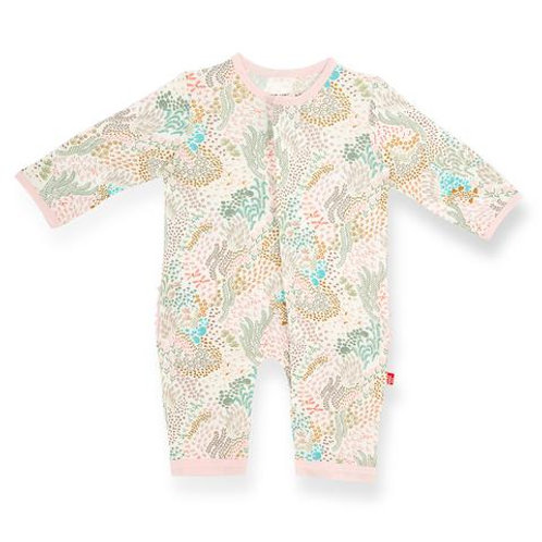 Magnetic Me - Coral Clay Modal Coverall