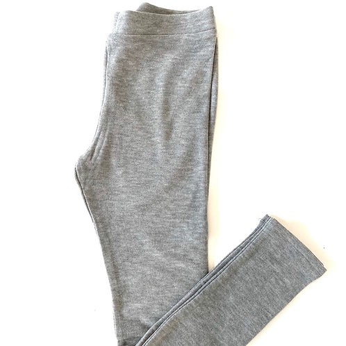 Chaser - Cozy Knit Grey Leggings