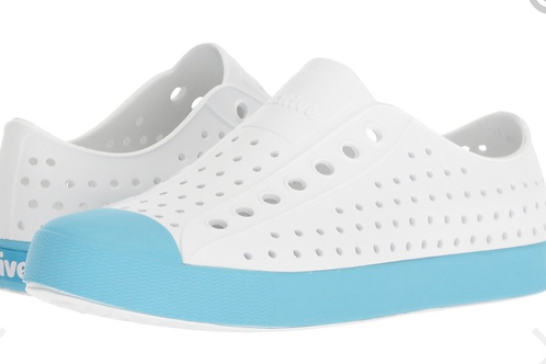 Native - Jefferson Surfer Blue/White shoes