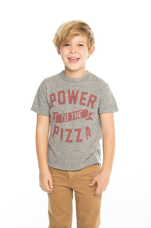 Chaser - Power to the Pizza Shirt