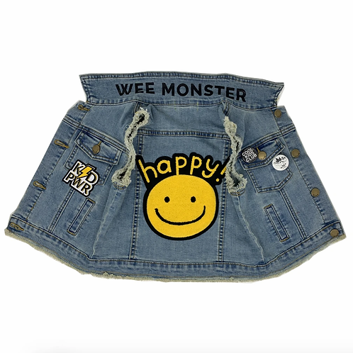 Wee Monster - Happy Denim Vest