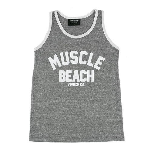 Tiny Whales - Muscle Beach Tank