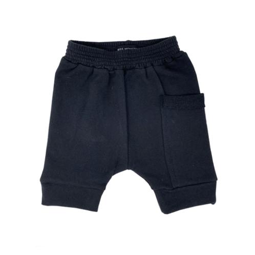 Wee Monster - Black Harem Shorts