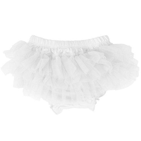 Ju Danzy - White Diaper Cover