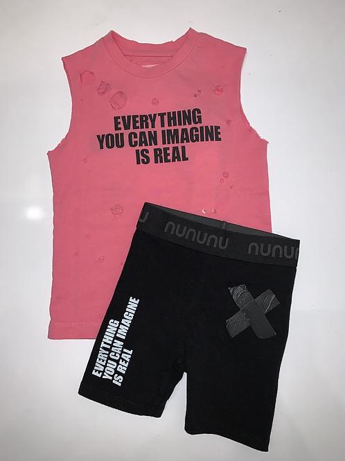 NuNuNu - Imagination Black Biker Shorts