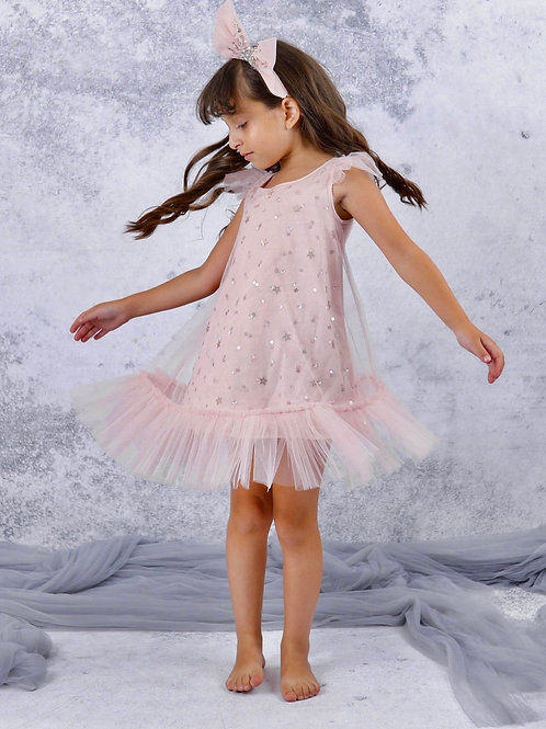 Marais  Sky - Fairy Flutter Tulle Dress