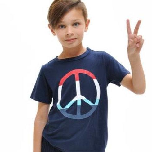 Sol Angeles - Peace Indigo Tee