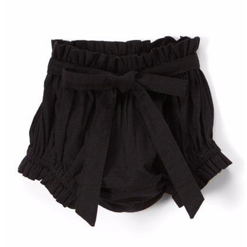 YoBaby - Black Shorts Diaper Cover