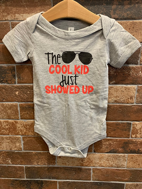 Midwest - The Cool Kid Just Showed Up Onesie