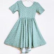 Eyee Kids - Sage Floral Dress