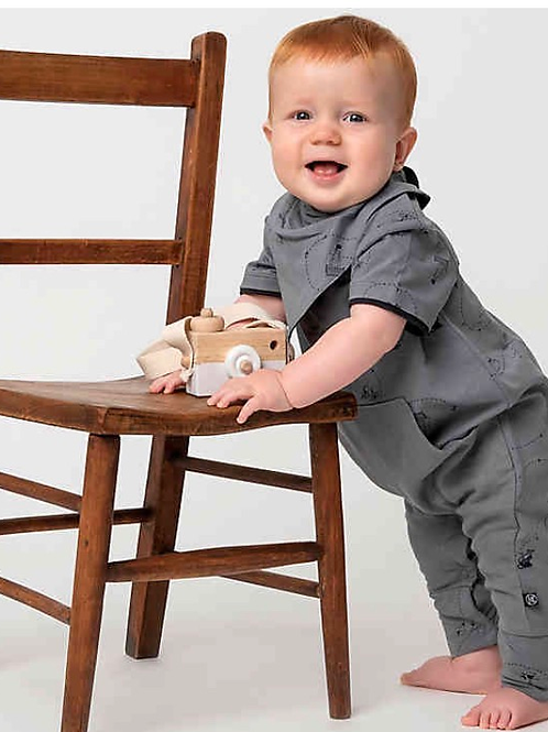 Kidding Around - Romper W/ Bib